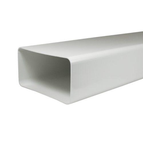 Flachkanal 180x95mm 150mm für Abluft von Dunstabzugshauben