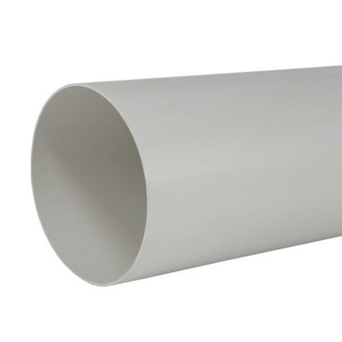 Rundrohr Kunststoff Abluftrohr 150 mm für Dunstabzugshauben