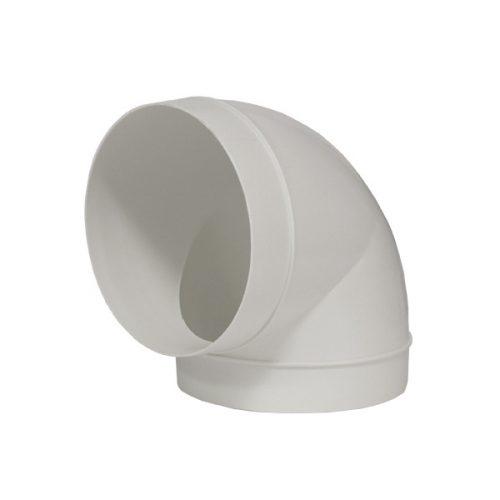 Rundrohr Bogen 90° 150 mm für Dunstabzugshauben