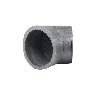45° Bogen noiseReduction ISO-Rohr für Dunstabzugshauben und Wärmerückgewinnung