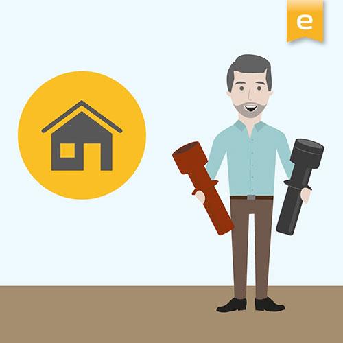 Erklärvideo über Dachdurchführungen für Dunstabzugshauben