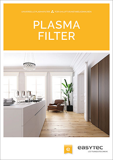Katalog Plasmafilter von Domaplasma für Dunstabzugshauben in der Küche